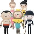 Novas Ins Loja Almofada Travesseiro Boneca de Brinquedo de Pelúcia de Algodão Macio Do Bebê de Malha Da Menina Da Sereia do Macaco 43 CM