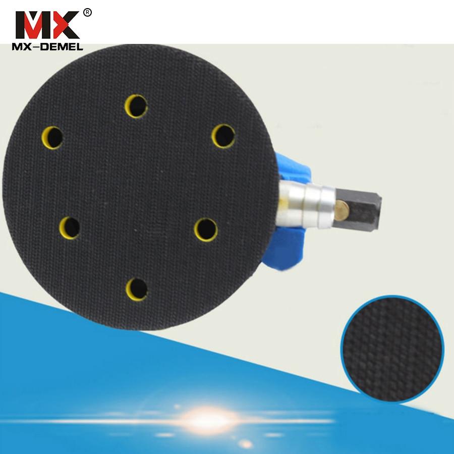 MX-DEMEL 5-tolline juhuslik orbitaalõhk Palm Sander & Auto poleerija - Elektrilised tööriistad - Foto 5