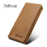 2017 For IPhone 6 7plus Fashion Handmade Genuine Real Leather Wallet 4 7 5 5