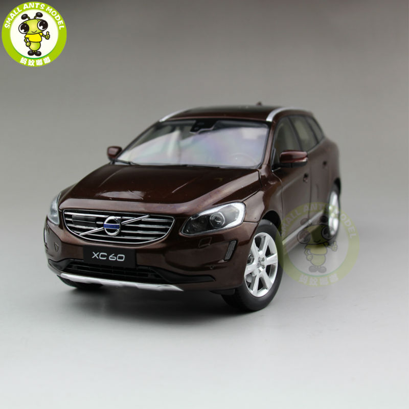 1/18 Volvo XC60 T6 AWD SUV moulé sous pression modèle voiture SUV brun-in Jouets véhicules from Jeux et loisirs    1