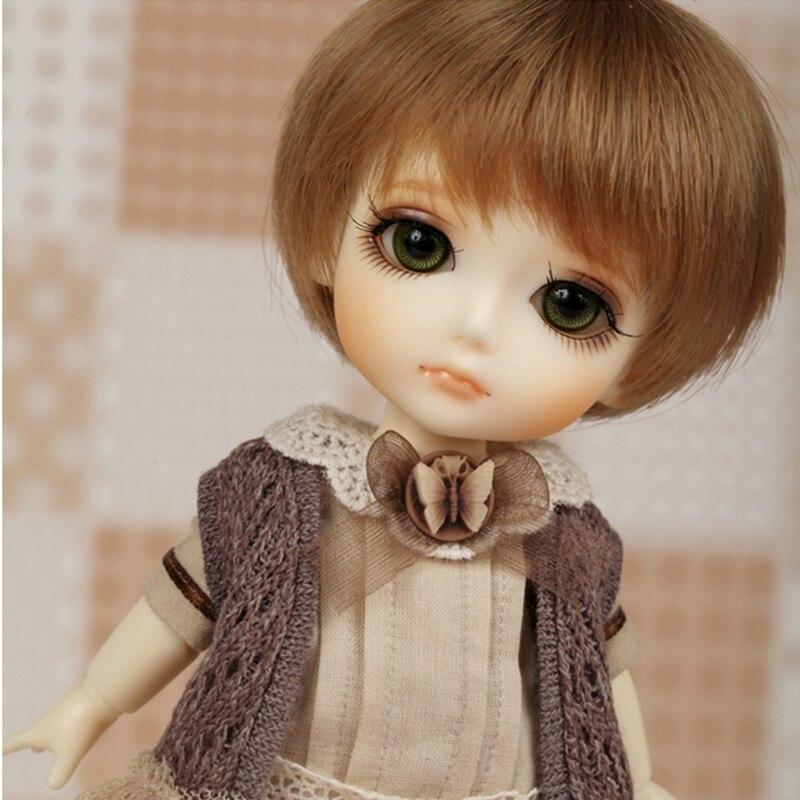 цена на Oueneifs Lati yellow Gilly 1/8 bjd sd doll resin figures body model baby girls boys dolls eyes High Quality toys