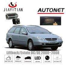 Câmera de Visão Traseira Para Citroen C5 JIAYITIAN 2000 ~ 2008 DC/DE Liftback Propriedade CCD de Visão Noturna Placa de Licença câmera Câmera Reversa