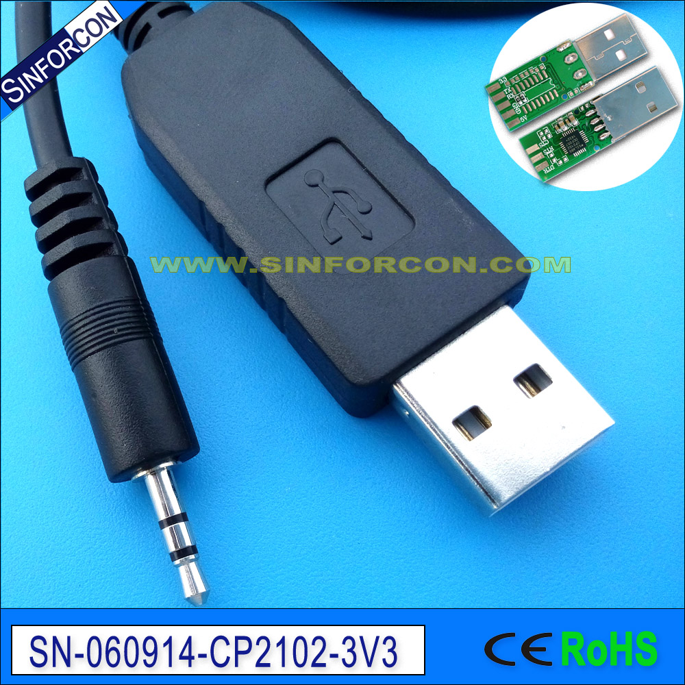 win7 8 10 android mac cp2102 3.3v usb uart ttl to 2.5mm audio jack cable for glucose meter areo glucomen ready datenkabel cp2102 usb to ttl stc promini download module for arduino