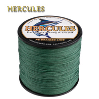 Hercules Fishing Line 8 Strands Carp Fishing 500m 100% PE Cord Pesca 15 Colors Braided Line Peche Strong 10 300LB Fishing Wire