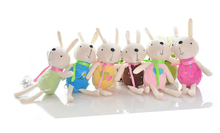 lovely colourful rabbit Plush toy about 30cm cartoon rabbits doll one lot / 12 pieces , party ,activity gift ,Xmas gift c199