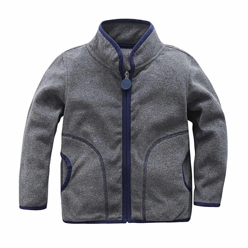 2019 חדש אופנה אביב סתיו בנות בני צמר מעיל 2-7 שנות ילדי הלבשה עליונה מעילי תינוק ספורט חליפת ילדים נים מעיל