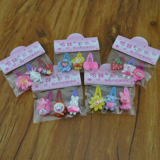 Fashion jewelry Cute Baby kid children girl Hair bands mix design hairpin hair accessory H30