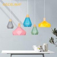 Modern Pendant Ceiling Lamps LED pendant Light Nordic hanging lamp Christmas decorations home lighting wood lamp for living room