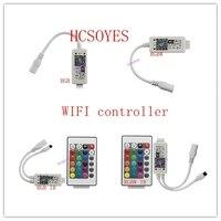 16 миллионов цветов управление музыкой Wifi RGB/RGBW светодиодный контроллер смартфон и режим таймера волшебный Домашний Мини wifi led rgb контроллер