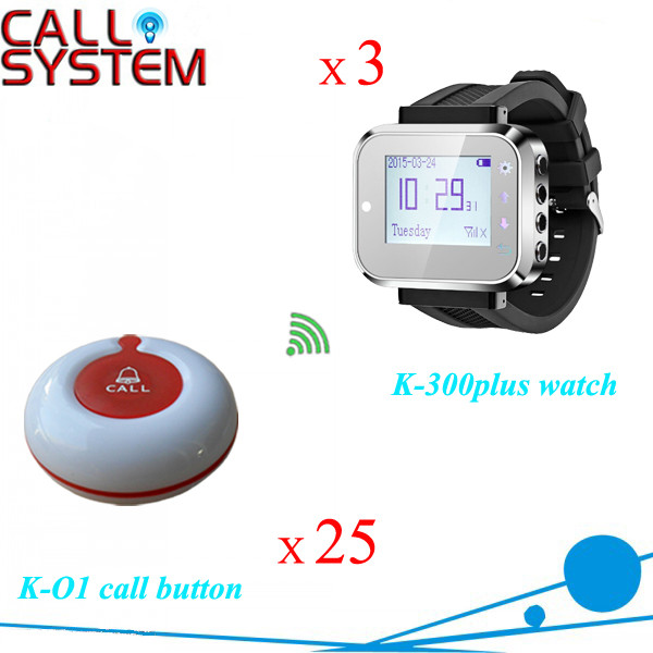 K-300PLUS+O1-WR 3+25 Vibrating call button system