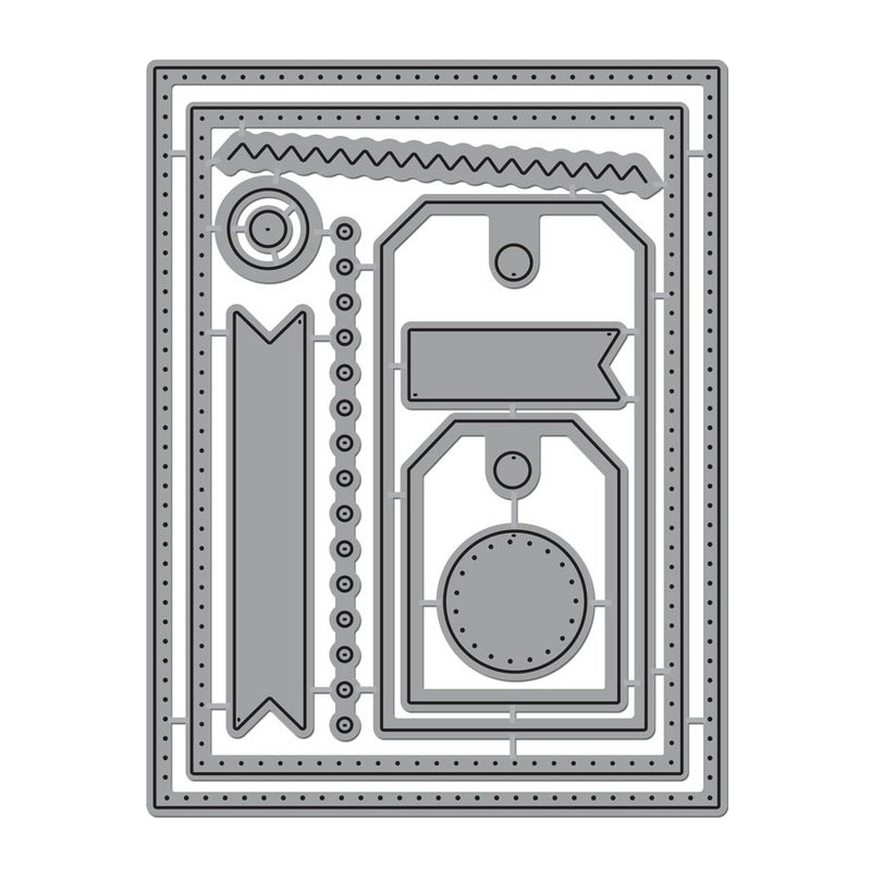 Tags Lace Frames Metal Die Cuts Cutting Dies For DIY Scrapbooking Embossing Paper Cards Making Decorative Craft dies 2019 New