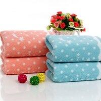 2017 New Cute Design Eco Friend Color Super Absorbent 34x75cm High Quality Facial Towel 100 Cotton