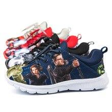 Jungen schuhe Die Hulk Avengers kinder tenis infantil kinderschoenen turnschuhe calzado chaussure garcon enfant cocuk spor ayakkabi
