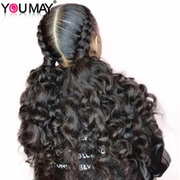 Silk Base Full Lace Human Hair Wigs 180% Pre Plucked Glueless Full Lace Wigs For Women Braizlian Virgin Natural Hair You May