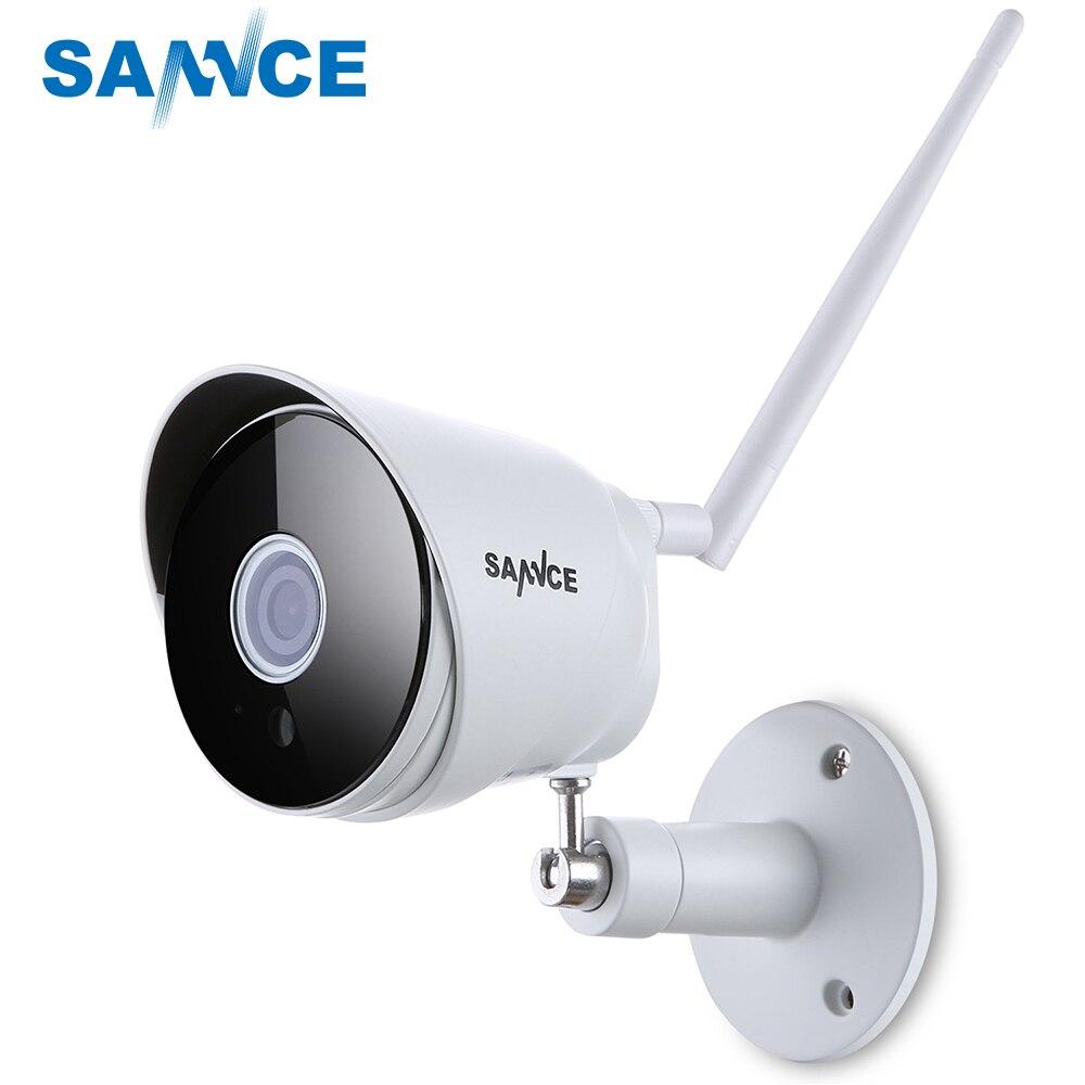 SANNCE HD 1080 p IP Caméra Sans Fil Wifi Bullet Camara Extérieure Étanche de Vision Nocturne IR Onvif P2P de Sécurité À Domicile camara 2018