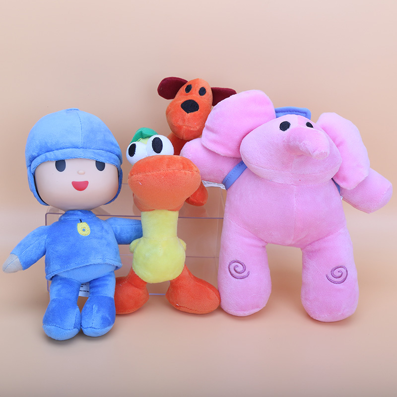 anime pocoy plush toys Cartoon Stuffed Animals Plush Toys Loula Elly ...
