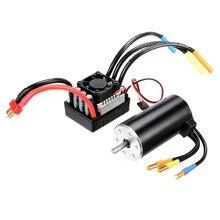 Racerstar 3670 sensor impermeable sin escobillas Motor 120A ESC para 1/8