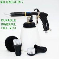 Mejor Nuevo regulador de aire de Tornado Z-020, gran calidad, tubo de acero japonés bearring tornado r gun negro (1 pistola completa + accesorios)