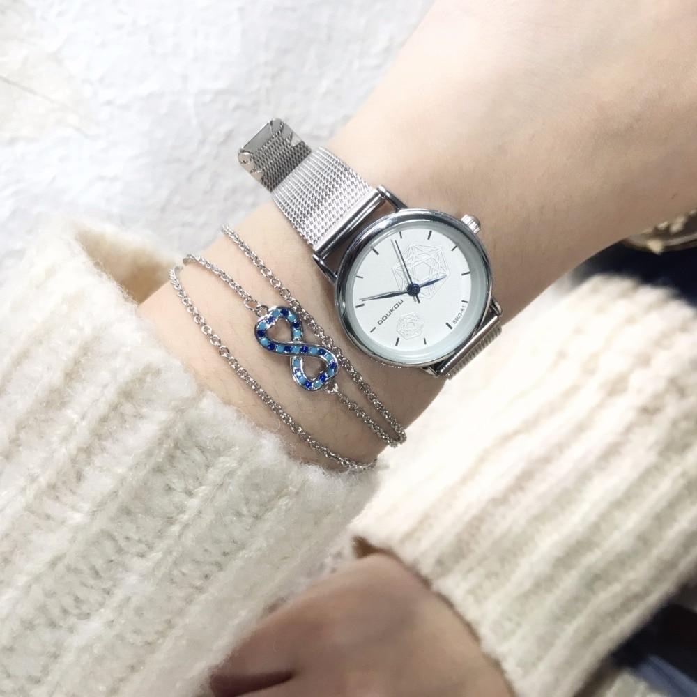 Magic Fish Bracelets for women Geometry Copper inlaid blue zircon Winding Charms bileklik jewelry bracelet lol bts oorbellen