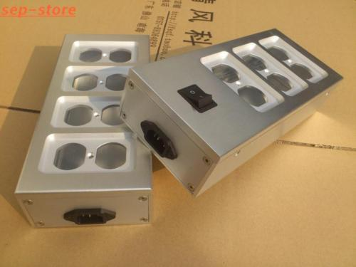 Aluminum electrical outlet box / power socket chassis outlet Enclosure