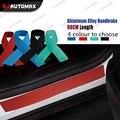 90cm PVC Rubber Rear Guard Bumper Protector Trim Cover For Nissan Teana X-Trail Qashqai Sylphy Sunny March Murano Juke Almera