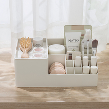 050 Fashion Large Capacity Multi-Check Cosmetics Desktop Receiving Box Cosmetic box 30*20*11.2cm