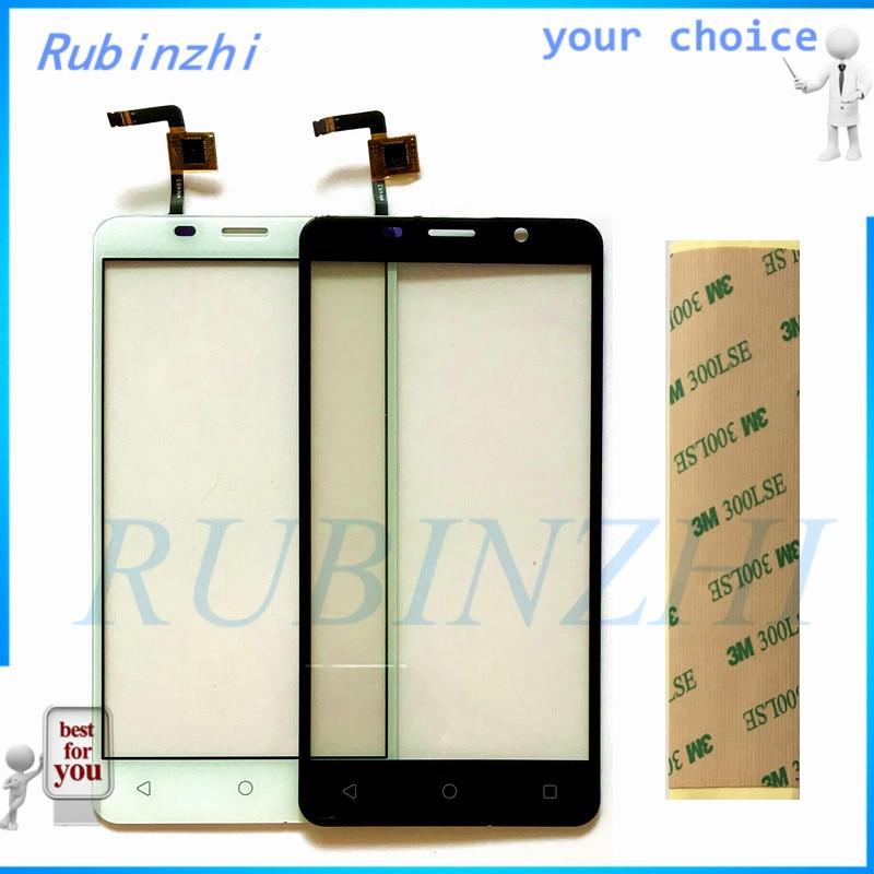 RUBINZHI 5.0 3M Tape Moible Phone Touchscreen Sensor For Tele2 Maxi Touch Screen Digitizer Replacement Panel Front GlassRUBINZHI 5.0 3M Tape Moible Phone Touchscreen Sensor For Tele2 Maxi Touch Screen Digitizer Replacement Panel Front Glass