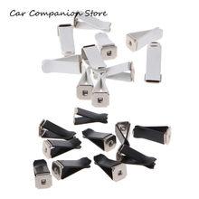 10 pces auto ar condicionado carro tomada de perfume clipes vent clip acessórios de automóvel