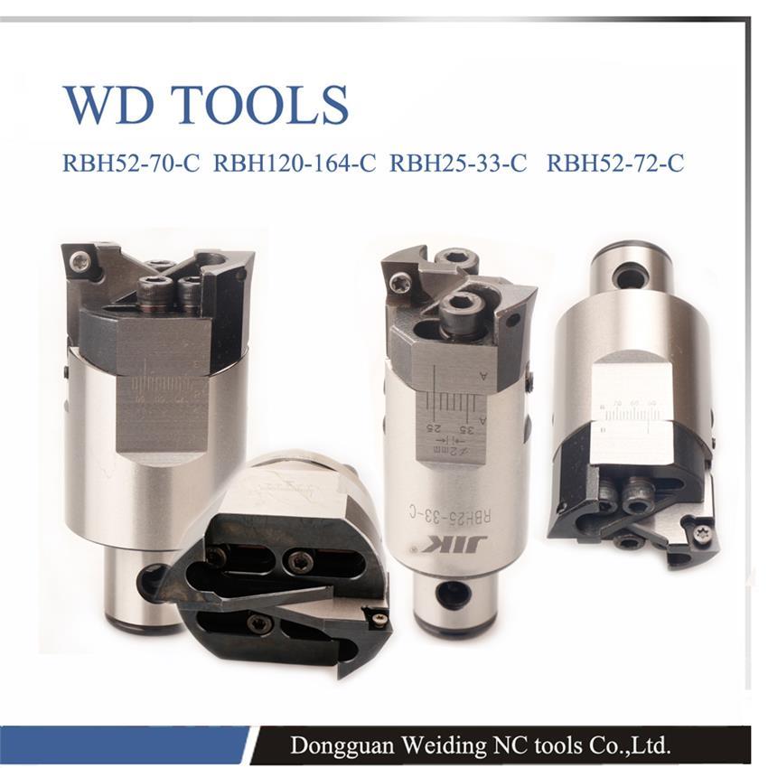 ФОТО High precision 0.02mm RBH32-42 Twin-bit Rough Boring Head RBH32 boring head used for deep holes