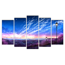 Modern Decoration Poster On Canvas Starry sky Modular HD Printed Picture Painting Home Wall Art Framework Living Room Cairnsi