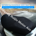 Free shipping factory price favorable 3D mesh material seat cover 55*92cm black color for motorcycle