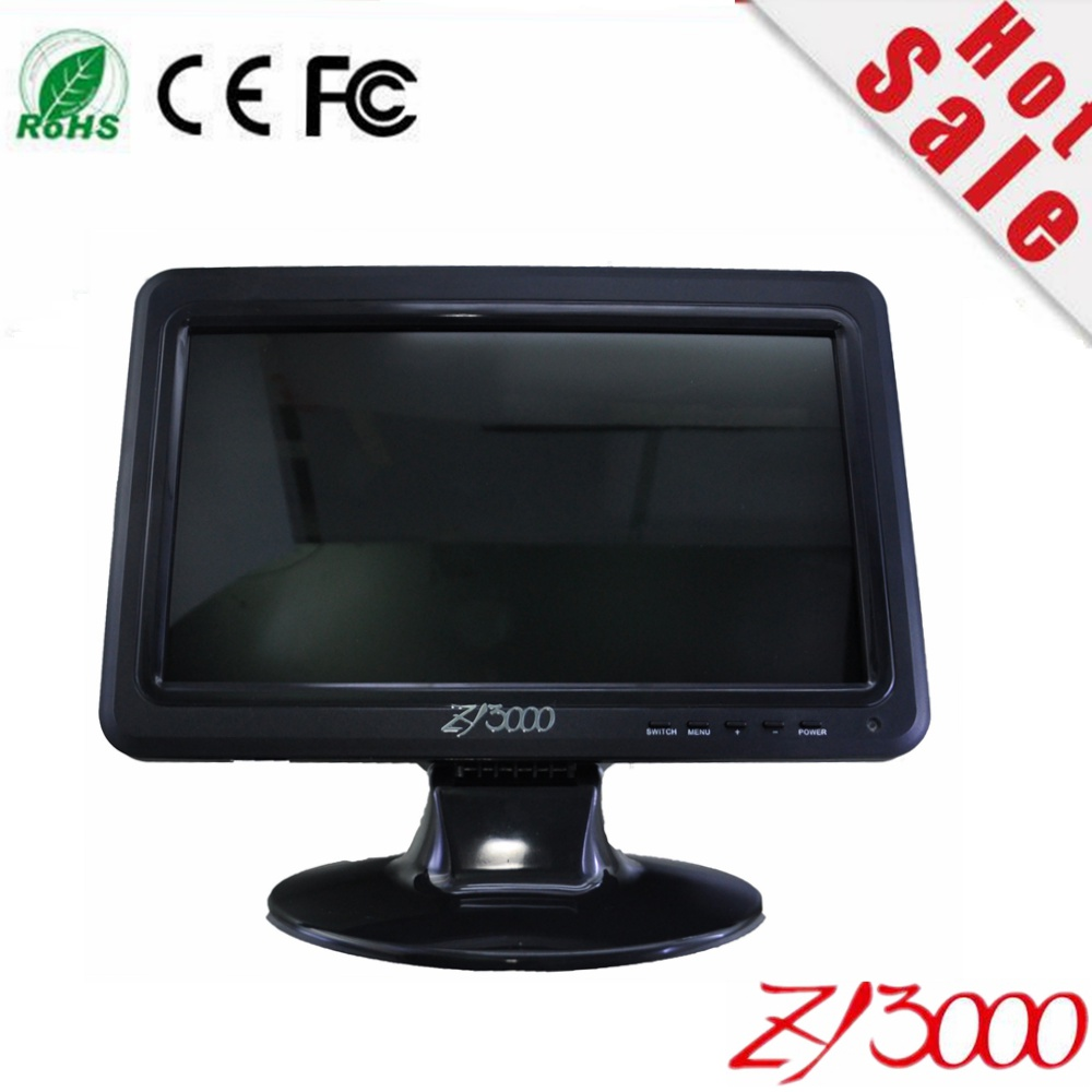 2017 Special Offer Sale New 10.1 Inch Ips Ultra Thin Car Video Monitor Display With Av Vga In Built-in Speaker