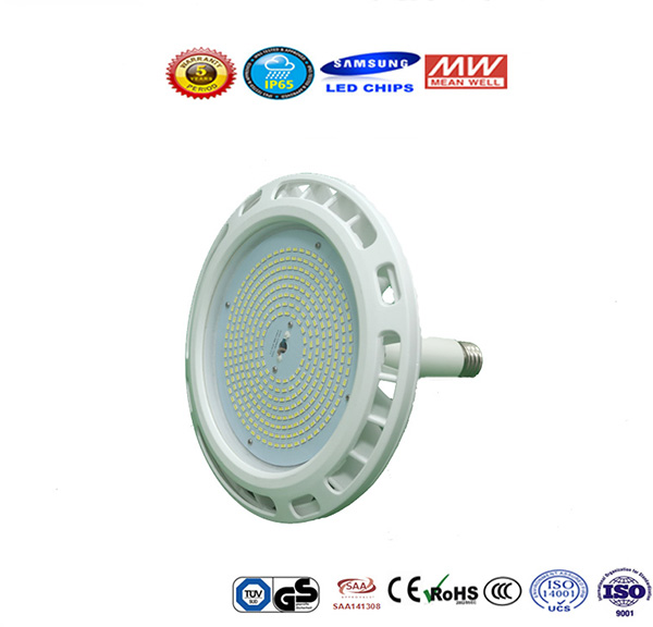 150W New Design UFO LED High Bay Light Commercial Lighting 17000lm IP65 Waterproof Replace 400W HPS or 200W Metal Halide