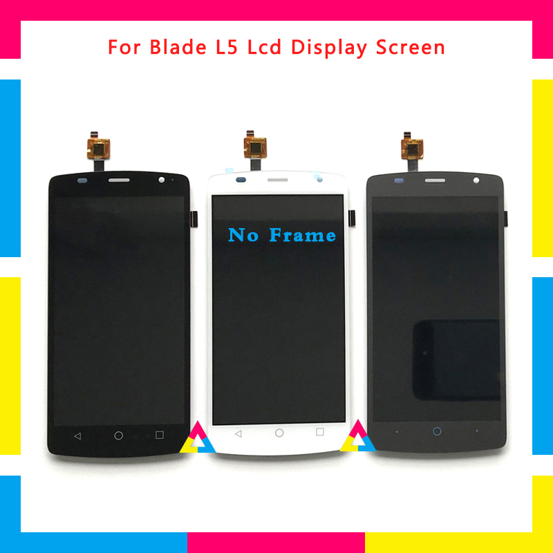 LCD Display Screen With Touch Screen Digitizer Assembly For ZTE Blade L5 and L5 Plus Replacement