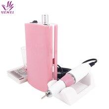 Taladro eléctrico portátil para uñas, 30000RPM, recargable, inalámbrico, para manicura y pedicura