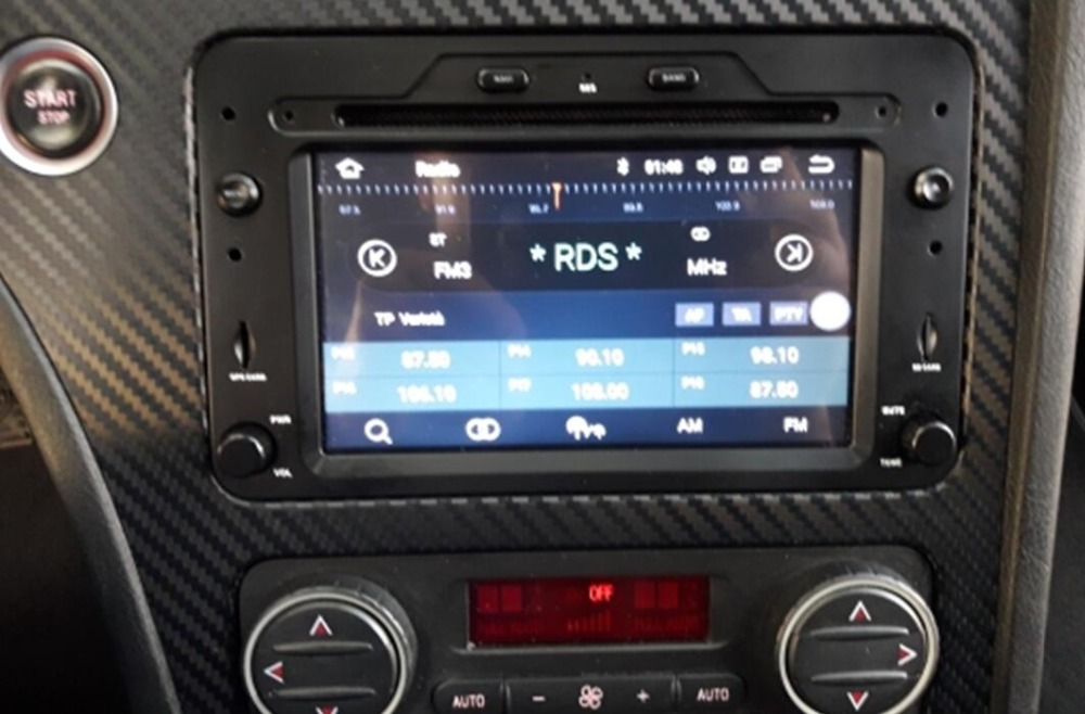 Lecteur multimédia de voiture 2Din pur Android 8.1 AutoRadio pour Alfa Romeo araignée Brera 159 Sportwagon 2006 GPS Navigation DVD Wifi