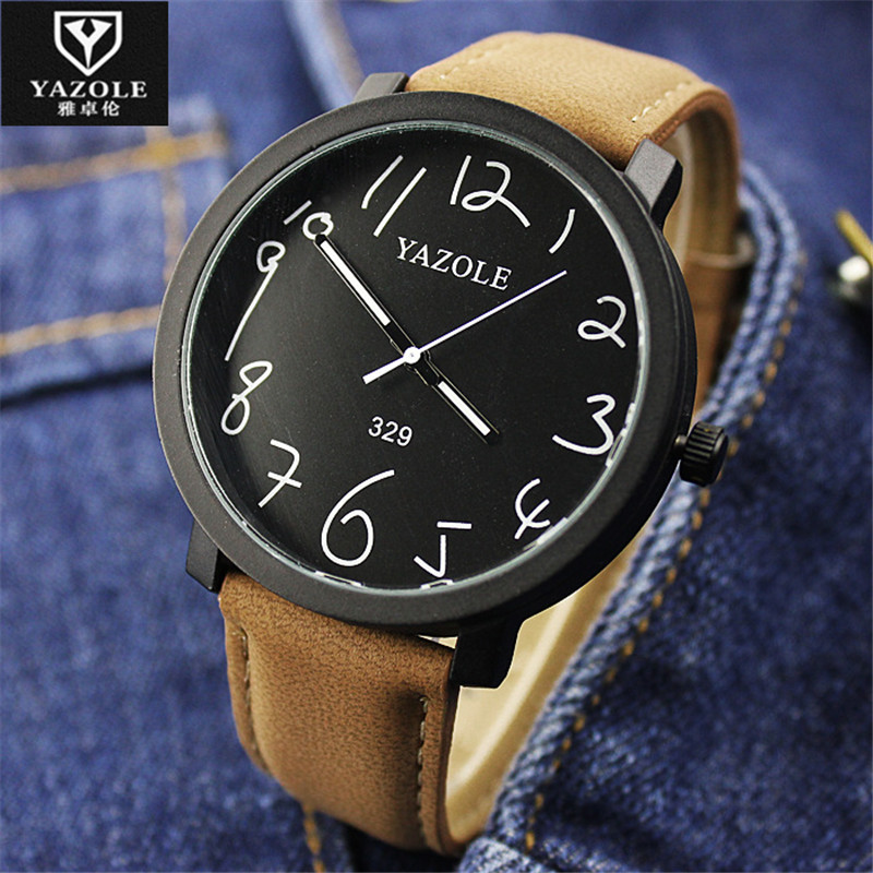 YAZOLE Quartz Watch Women Watches Ladies Brand Famous Wrist Watch Female Clock Quartz-Watch Montre Femme Relogio Feminino E50 vvmi 2016 new women handbag brand design rivet suede tassel bag chic classic vintage saddle bag single shoulder bag for female