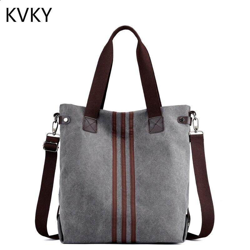 58fd9da35aed Canvas Women Bag Vintage Handbags Female Shoulder Bags Designer Ladies  Crossbody Lady Messenger Bag Casual Tote Bolsa Feminina