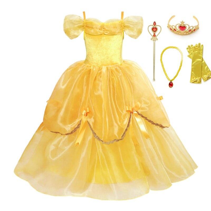 Niños Disfraz De Bella Para Niñas Disfraces Y Accesorios