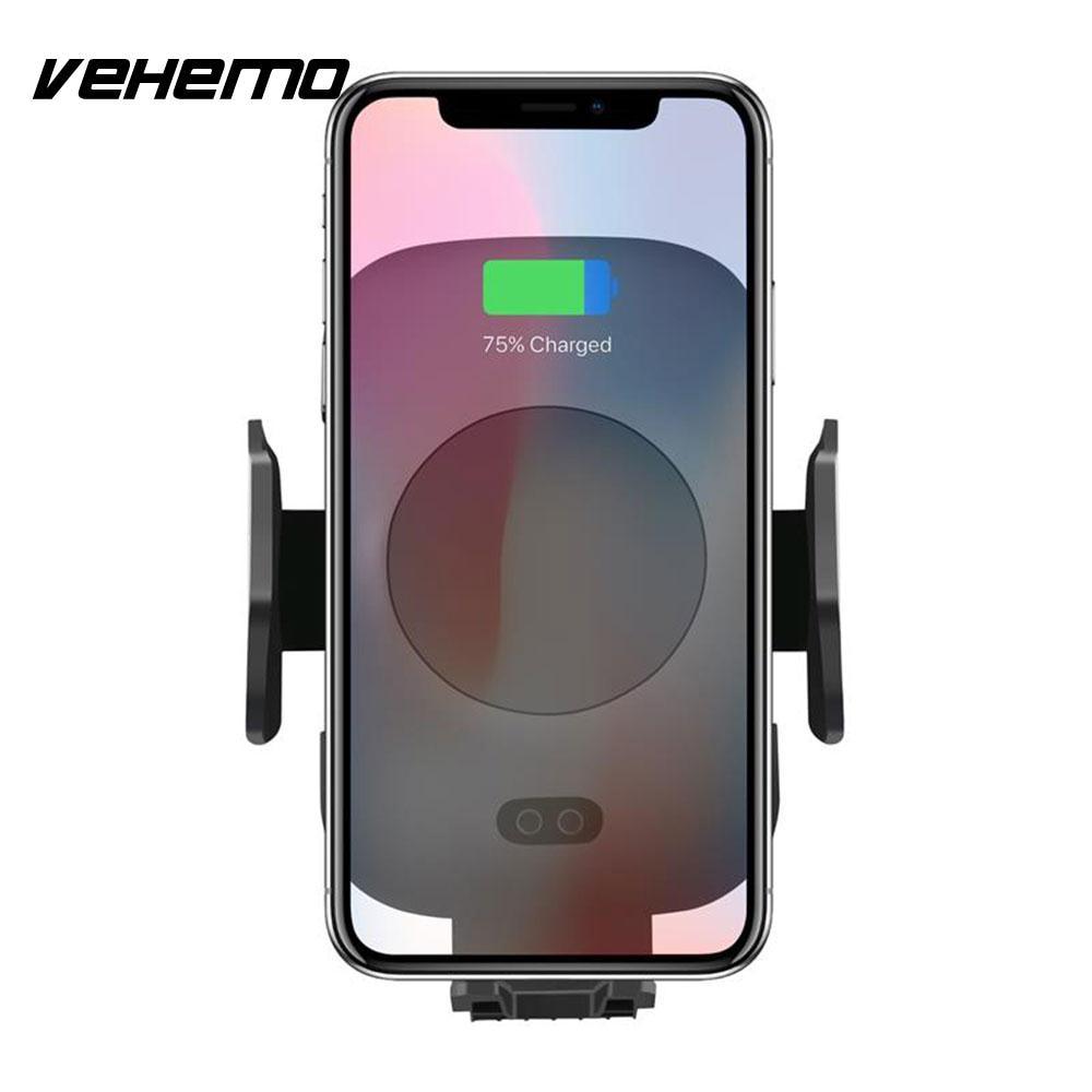 VEHEMO Infrared Control Car Air Vent Navigation Smartphone Holder Car Mount Holder GPS Mount Holder Car Interior