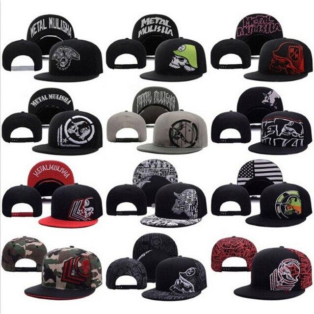 2015 Skull nueva moda Metal Mulisha gorra de béisbol sombrero mejor calidad  Rockstar zorro DC Bulls 1f9cc613e5b