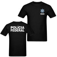 2019 Fashion Double Side New Mexico Police Policia Federal MenS T Shirt Unisex Tee