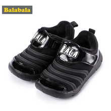 Children Boys Girls Sports Shoes 2018 New Autumn Casual Simple Cartoon Running Shoes Stable Warm Loose Smooth Lightweight Shoes