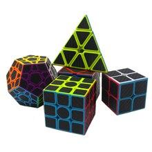 5pcs/set Z Cube Set Magic Cube Sticker Speed 3x3x3 4x4x4 Magico Cube Magico Educational Brain Puzzle Toys For Children Adult цены