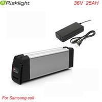 36V 25Ah battery for 36v Bafang/8fun 500w mid/center drive motor 36v Battery for Electric Bike For Samsung Cell