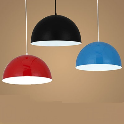 35cm Aluminum pendant lights droplight semicircle meal kitchen lamp black and white or red/blue pendant lamsp FG966 using crayfish waste meal and poultry offal meal in place of fishmeal