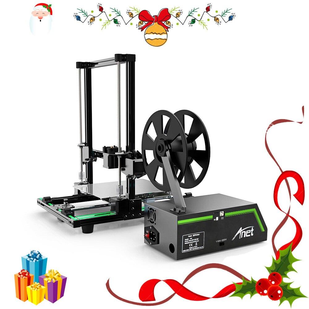 Pas cher Anet E10 A6 Impresora 3d imprimante Haute précision Reprap Prusa i3 3D Imprimante DIY Kit Hors-ligne D'impression avec PLA Filament - 2