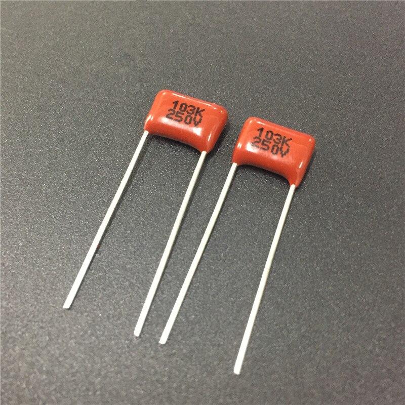 //-20/% Condensador Cerámico Condensador De Seguridad 103M 0.01uF 250VAC 5 un