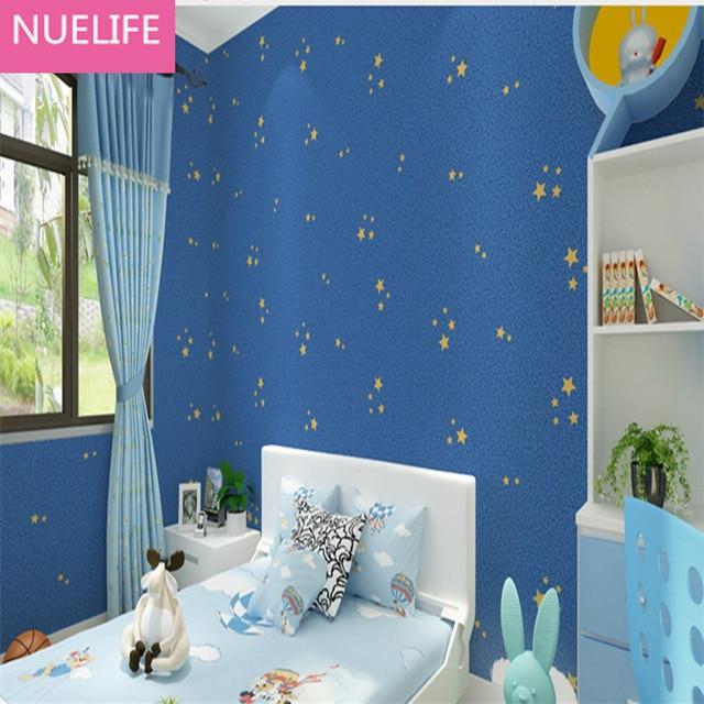 0,53x10 Meter Blau Sky Vliesstoffe Tapete Niedlich Kinderzimmer Junge  Mädchen Schlafzimmer Wohnzimmer Kindergarten Tapete