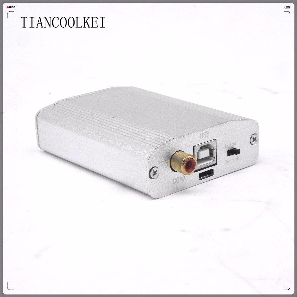 Neueste Kollektion Von Tragbare Pcm2706 Pc Audio Decoder Usb Soundkarte Ausgang Koaxial Und 3,5mm Kopfhörer Dac Zu I2s Unterstützung Otg Android Aromatischer Geschmack Unterhaltungselektronik